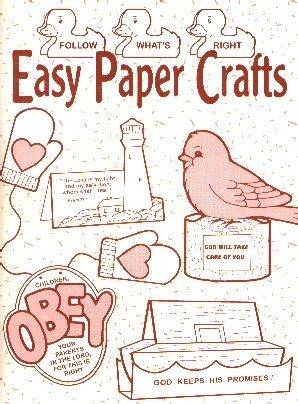 [Easy Paper Crafts, Book 1 (by Mary Currier)]