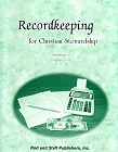 [Recordkeeping for Christian Stewardship -- Workbook 1]
