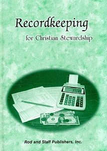 [Recordkeeping for Christian Stewardship -- pupil's textbook]