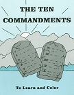 [To Learn and Color: The Ten Commandments]